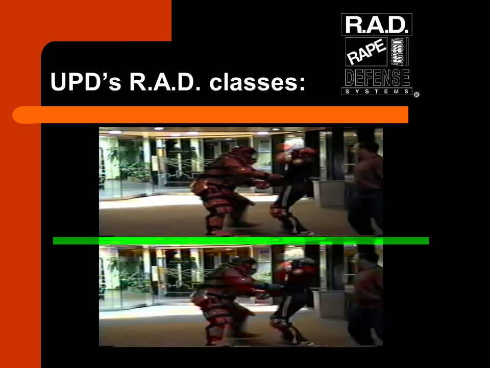 UPD's R.A.D. classes:
