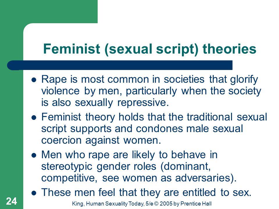 Feminist (sexual script) theories