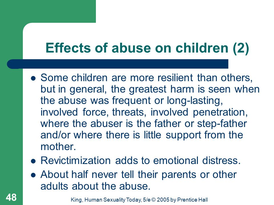 Effects of abuse on children (2)