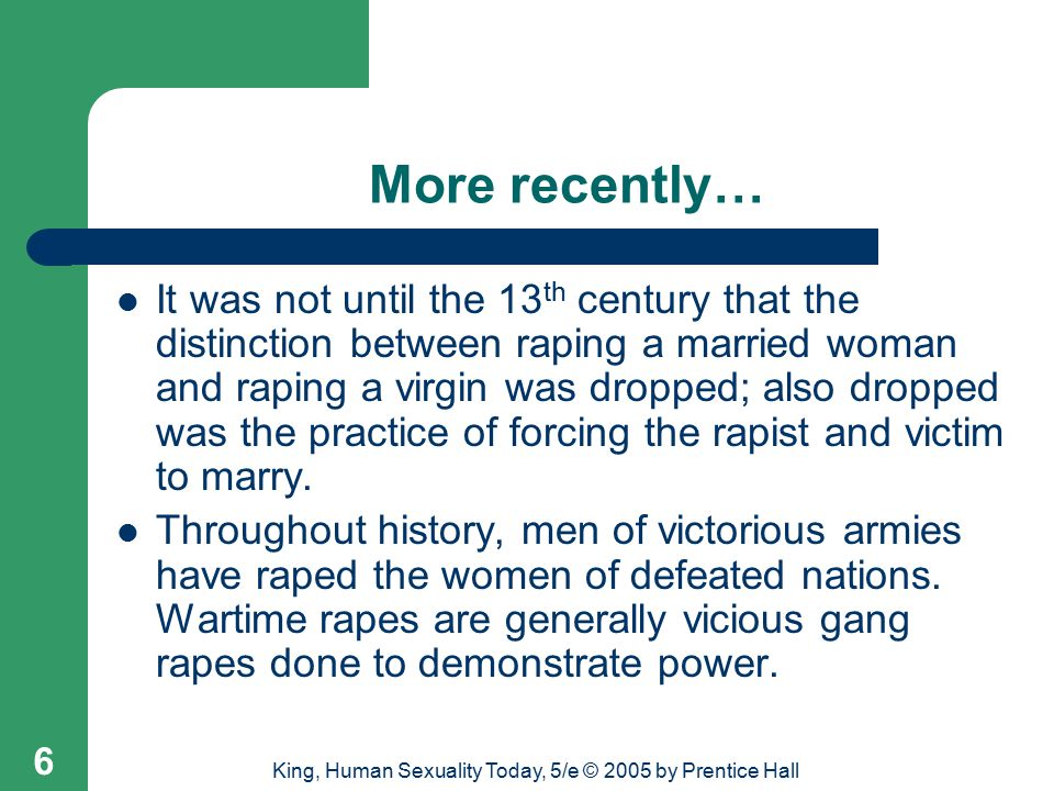 King, Human Sexuality Today, 5/e © 2005 by Prentice Hall