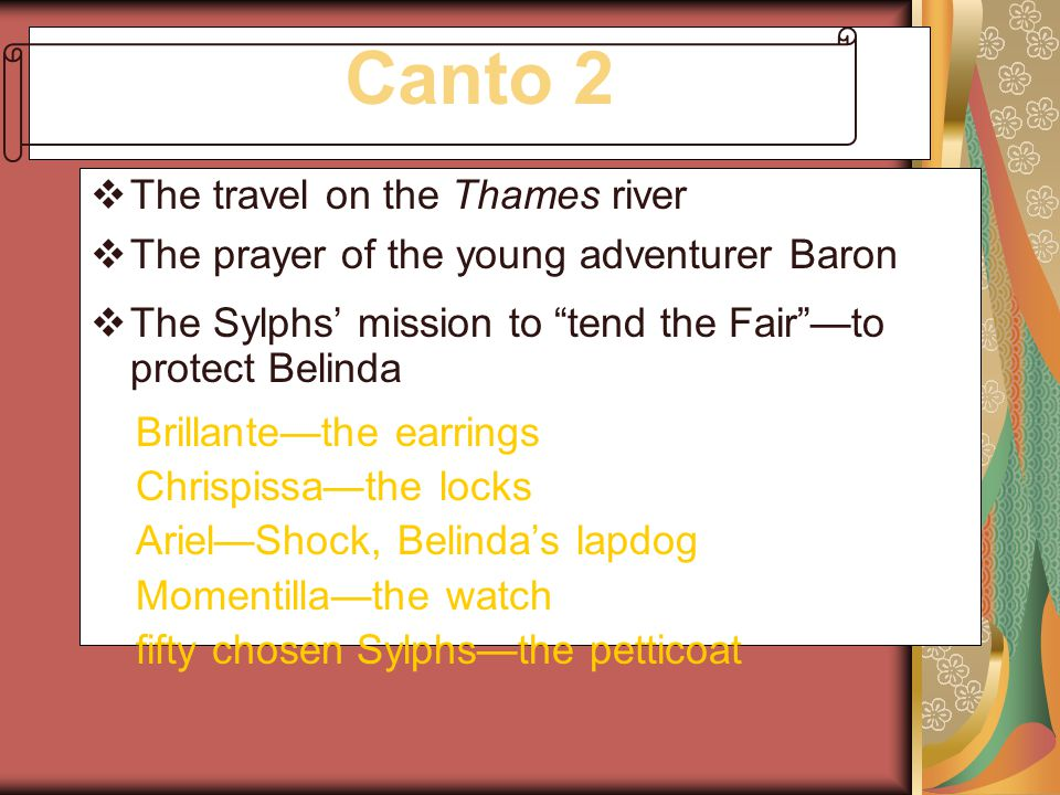 Canto 2 The travel on the Thames river