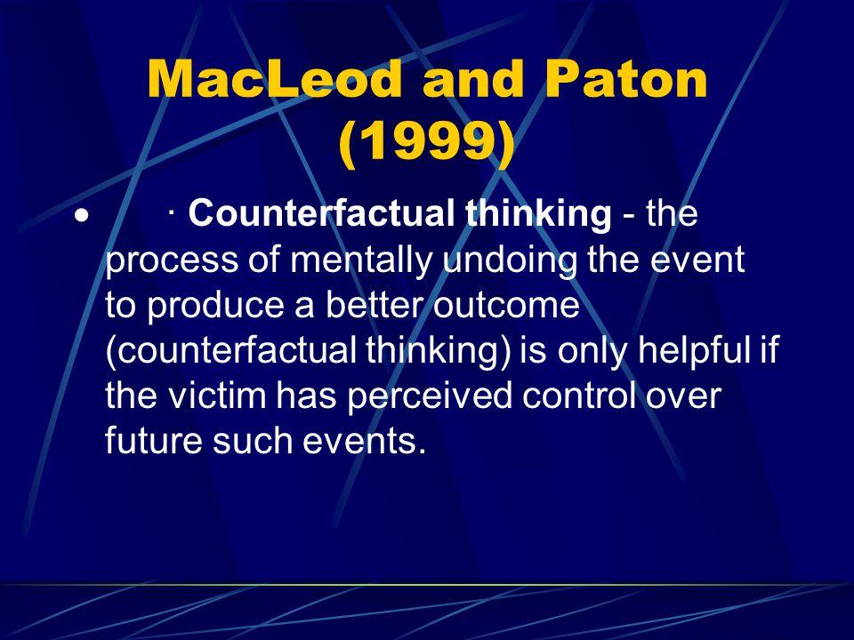 MacLeod and Paton (1999)