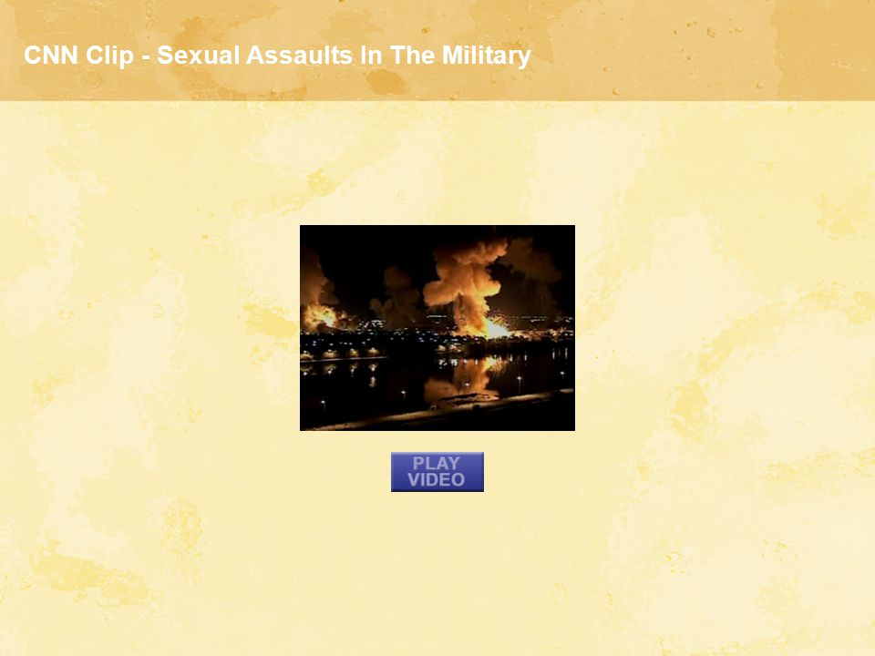 CNN Clip - Sexual Assaults In The Military