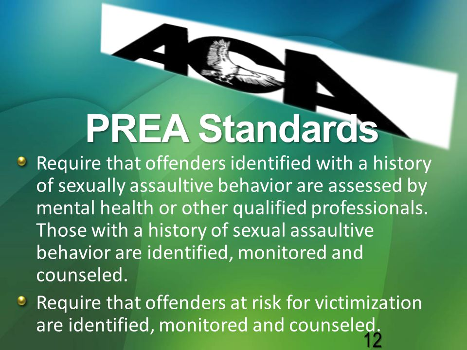 PREA Standards
