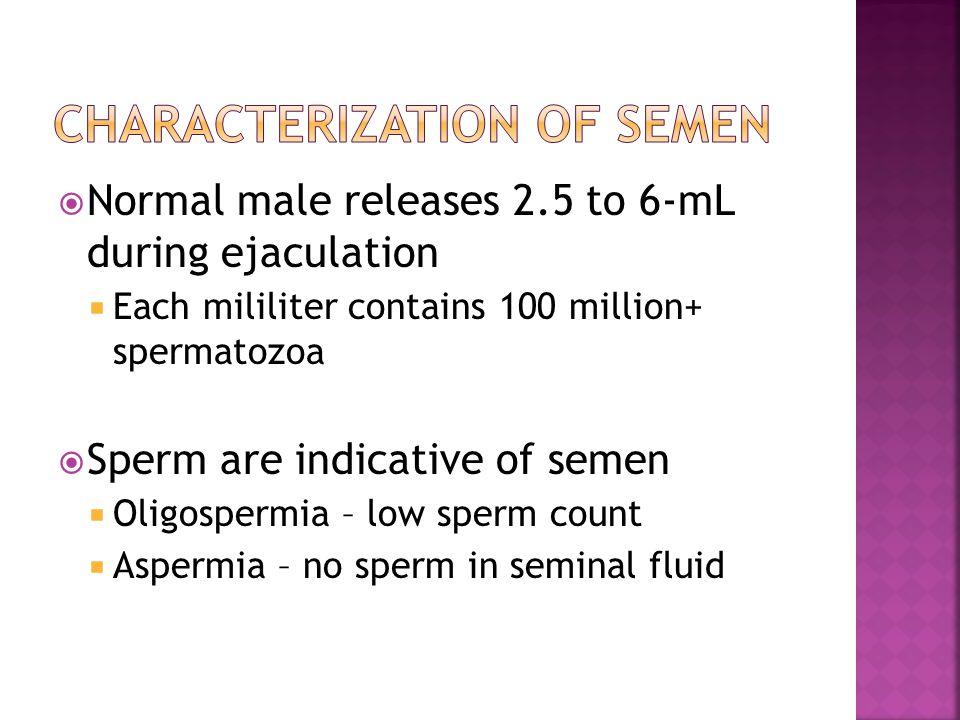 Characterization of Semen