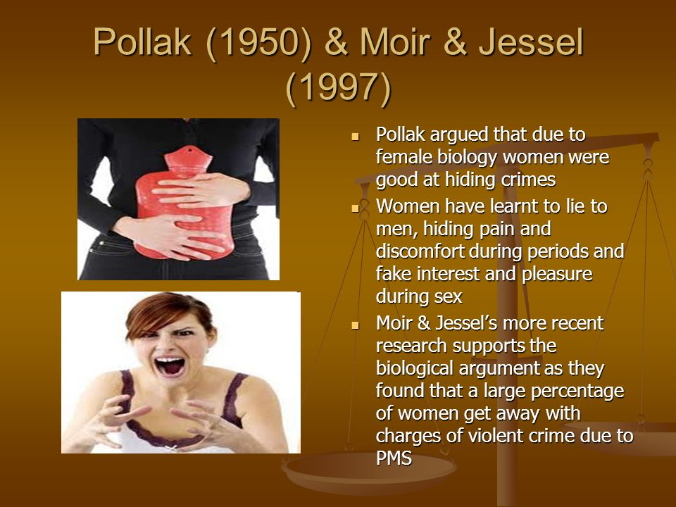 Pollak (1950) & Moir & Jessel (1997)