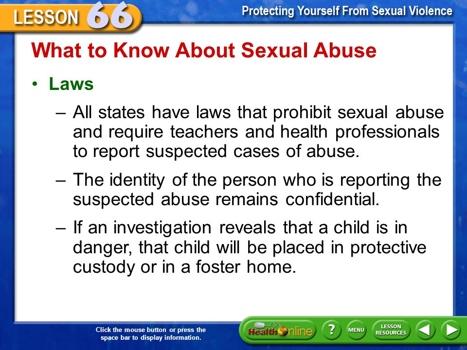 What to Know About Sexual Abuse