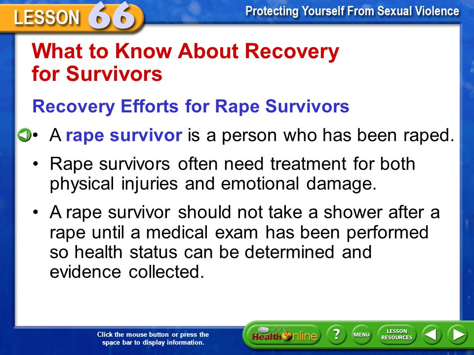What to Know About Recovery for Survivors
