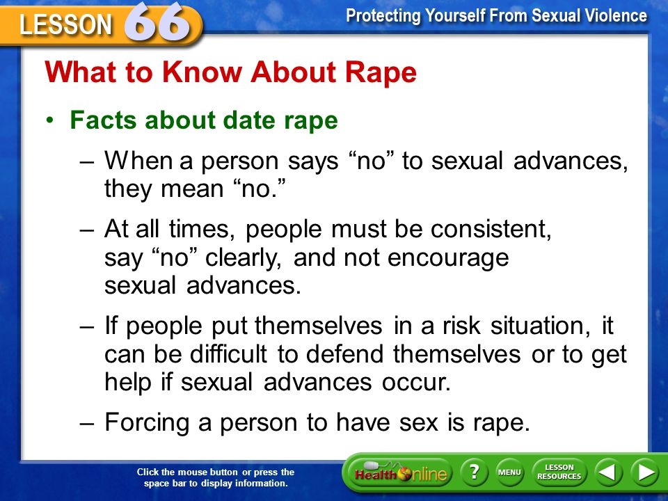 What to Know About Rape Facts about date rape