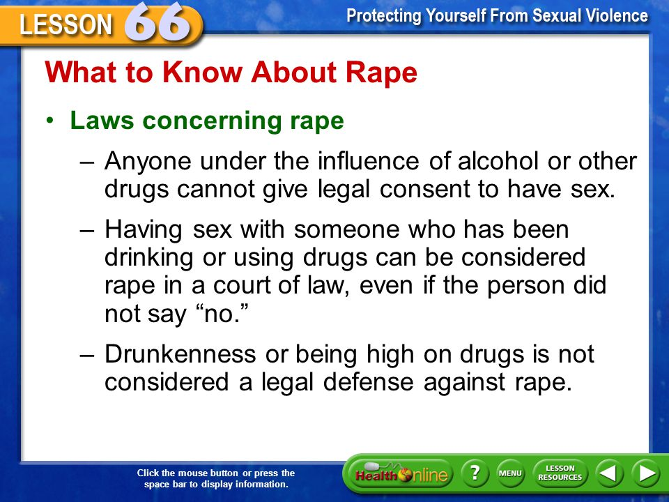 What to Know About Rape Laws concerning rape