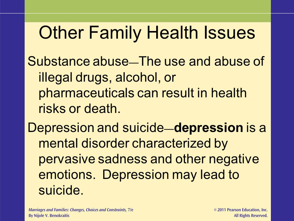 Other Family Health Issues