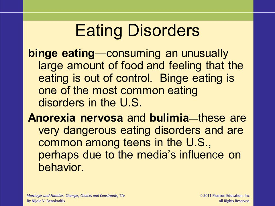 Eating Disorders: Dangerous Mental Illnesses