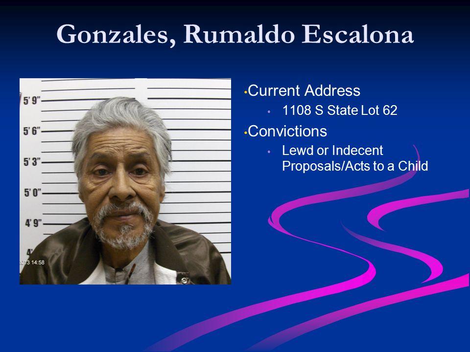 Gonzales, Rumaldo Escalona
