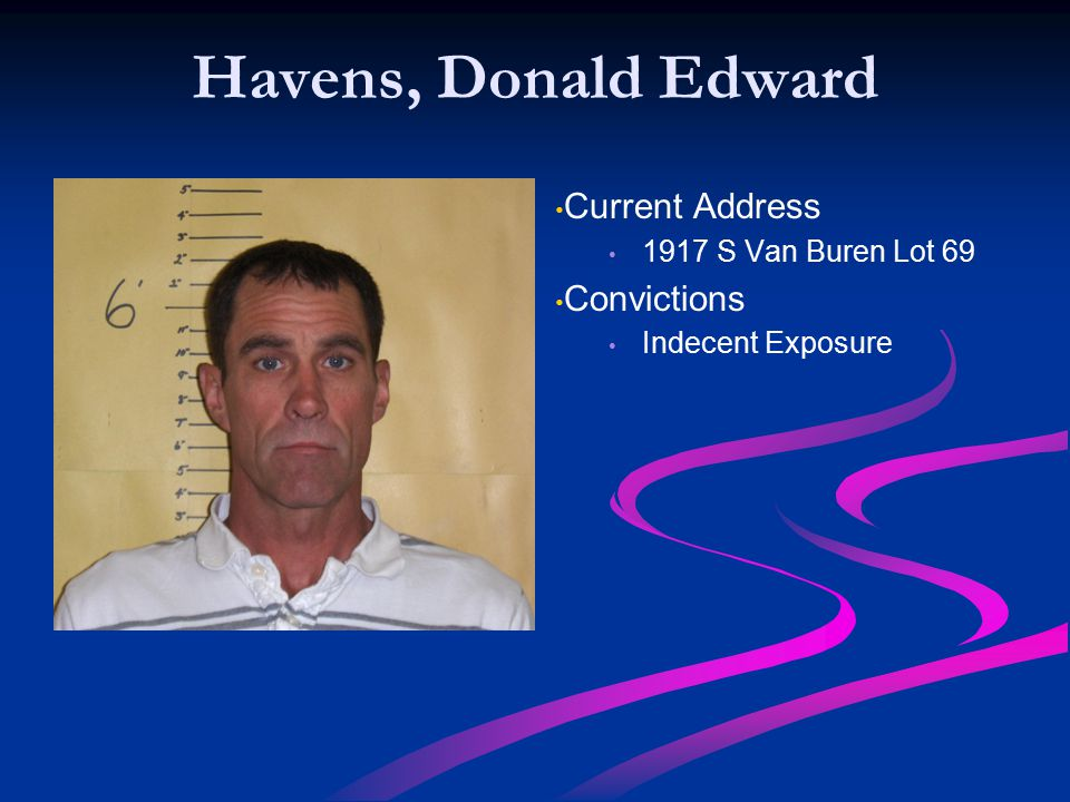 Havens, Donald Edward Current Address Convictions
