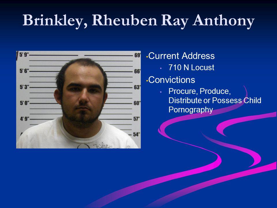 Brinkley, Rheuben Ray Anthony