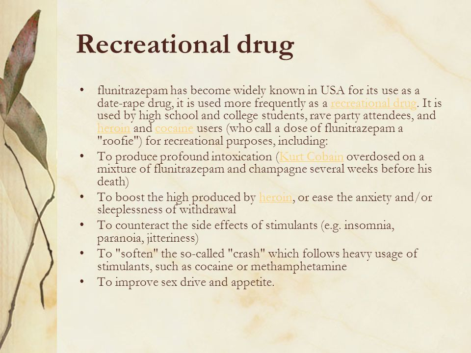 Recreational drug
