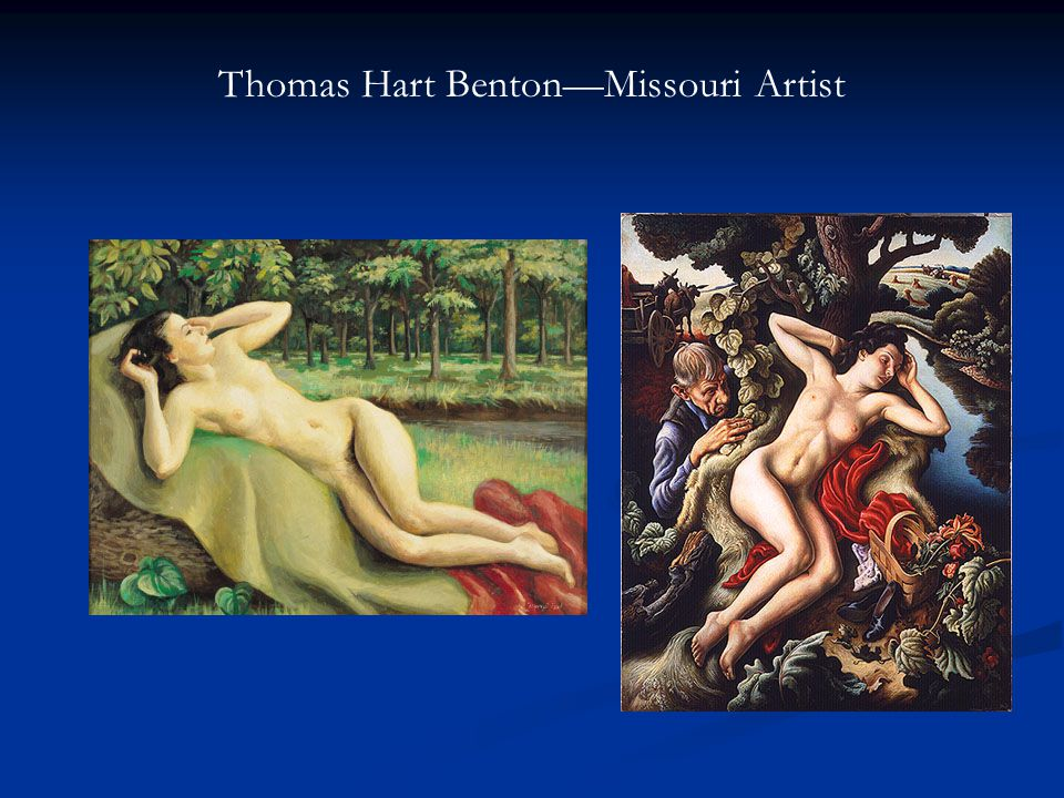 Thomas Hart Benton—Missouri Artist