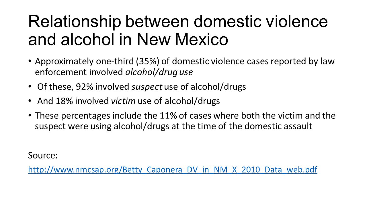 relationship between drug use and violence
