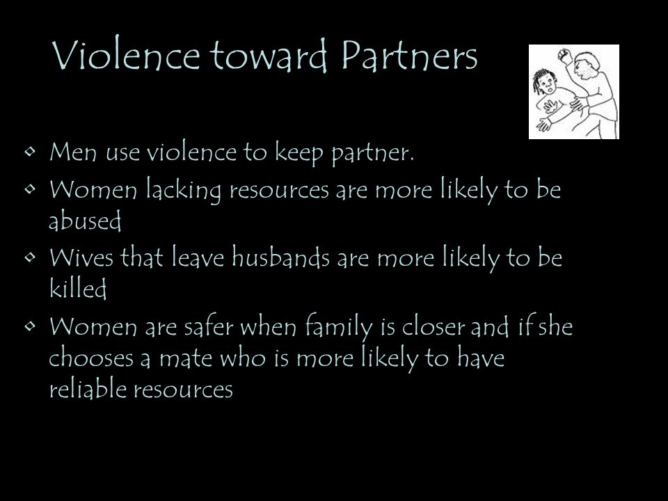 Violence toward Partners