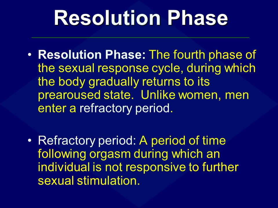 Resolution Phase