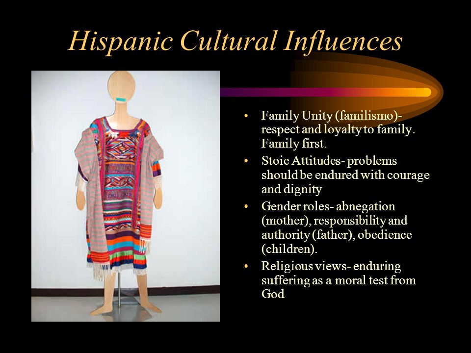 Hispanic Cultural Influences