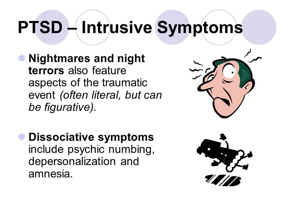PTSD – Intrusive Symptoms