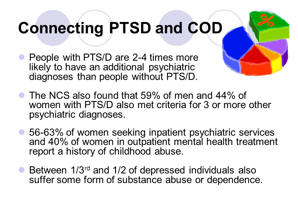 Connecting PTSD and COD