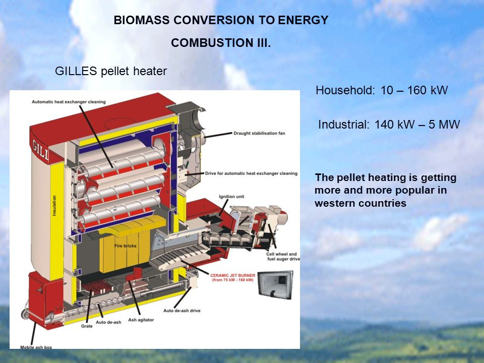 BIOMASS CONVERSION TO ENERGY