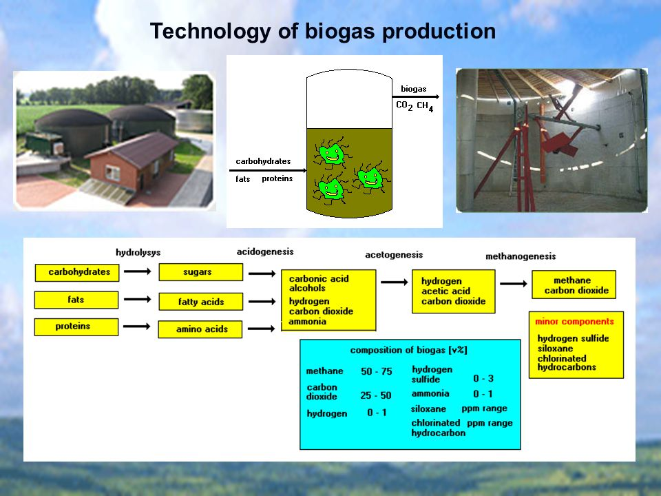Technology of biogas production