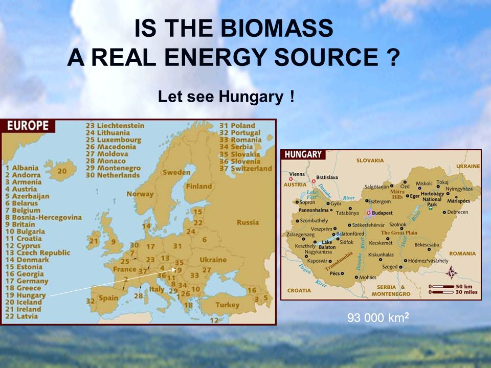 IS THE BIOMASS A REAL ENERGY SOURCE