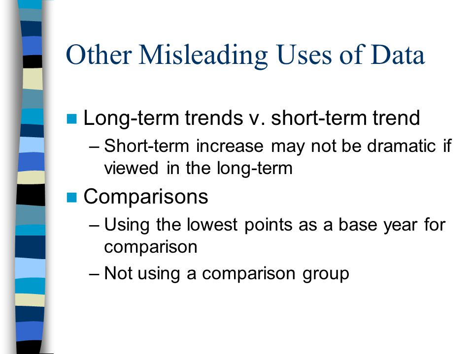 Other Misleading Uses of Data