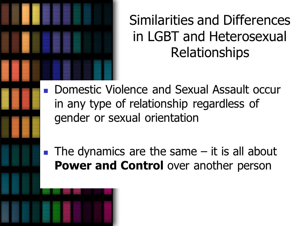 Similarities and Differences in LGBT and Heterosexual Relationships