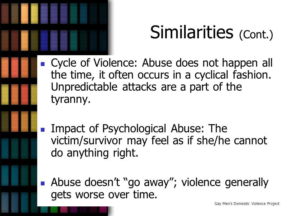 Similarities (Cont.)
