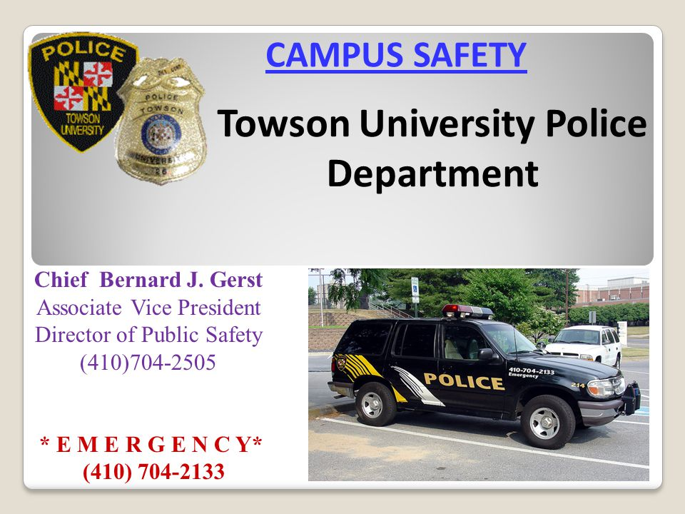 Towson University Police Department