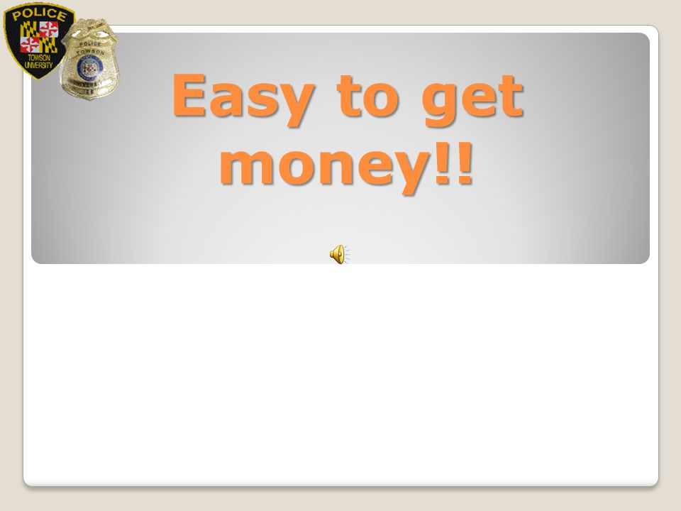 Easy to get money!!