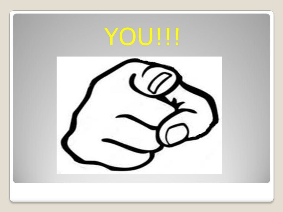 YOU!!!
