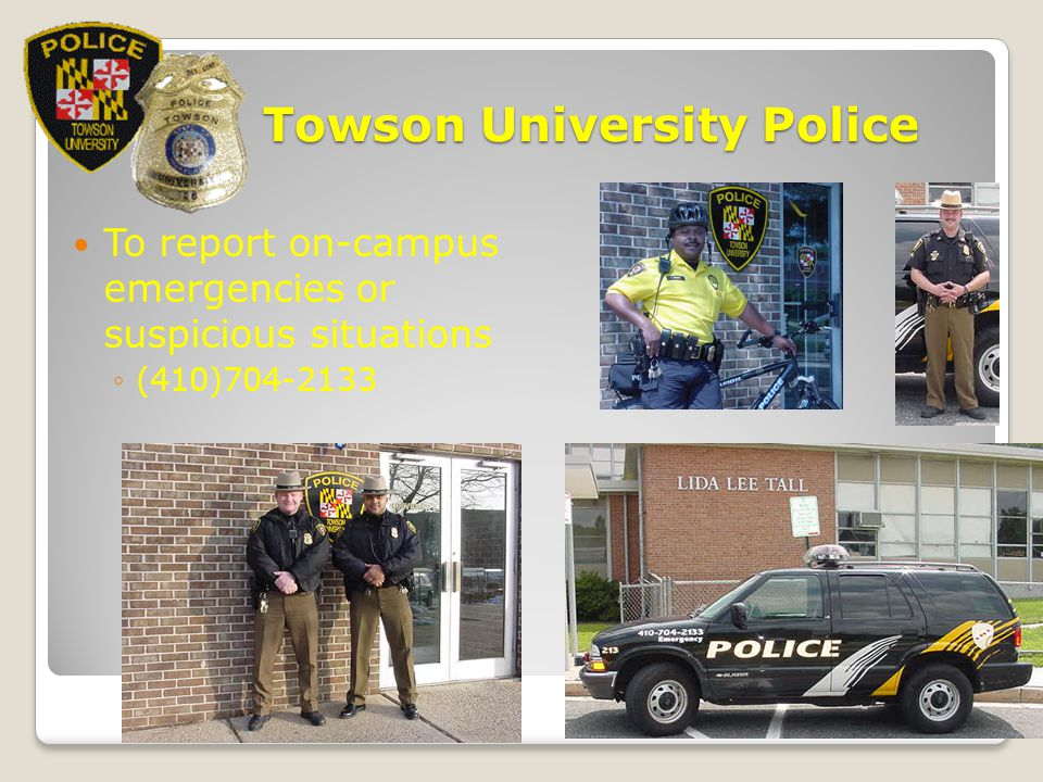 Towson University Police