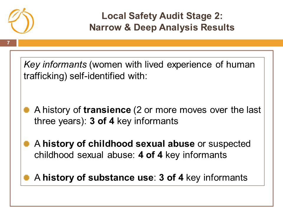 Local Safety Audit Stage 2: Narrow & Deep Analysis Results
