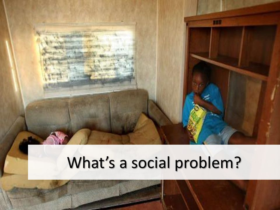 What is a social problem