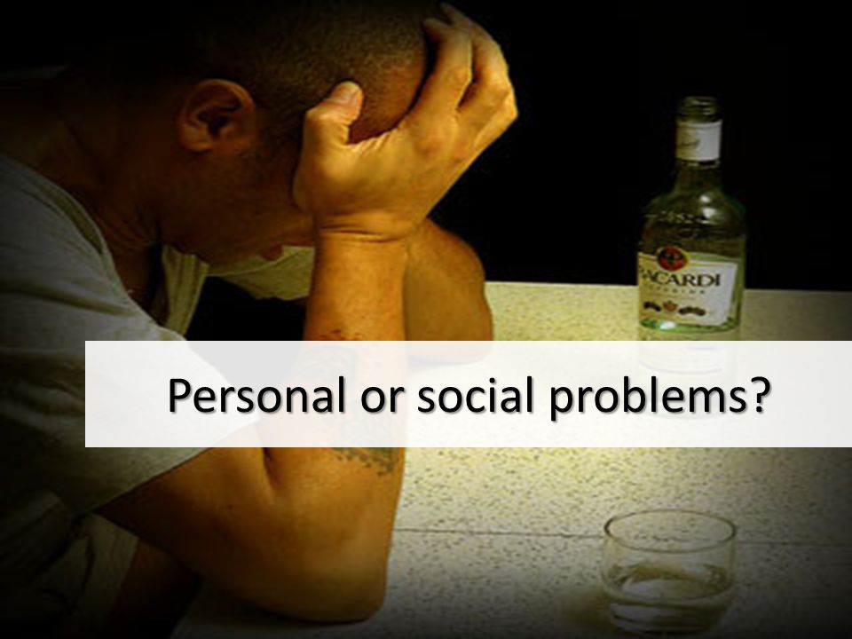 Personal or social problems