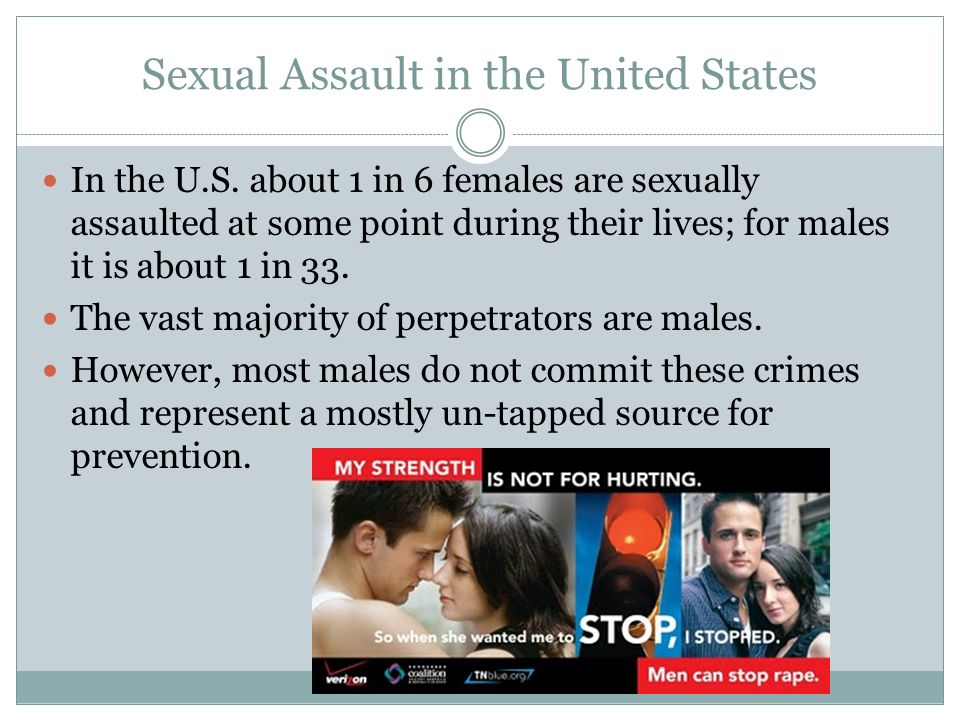 Sexual Assault in the United States