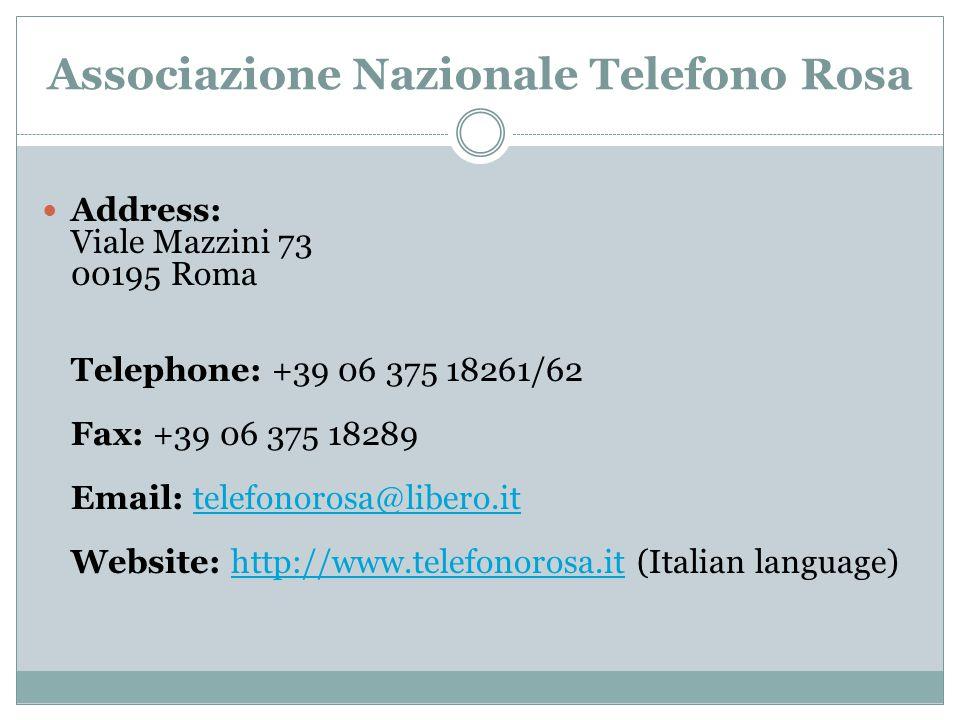 Associazione Nazionale Telefono Rosa