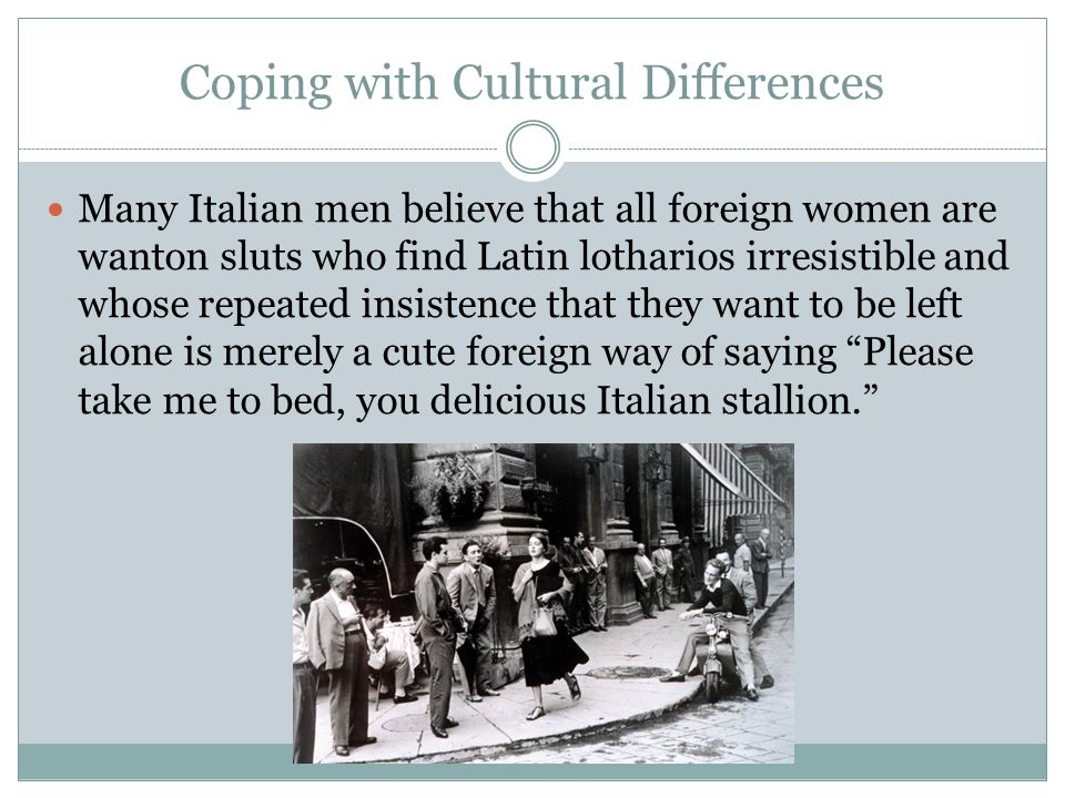 Coping with Cultural Differences