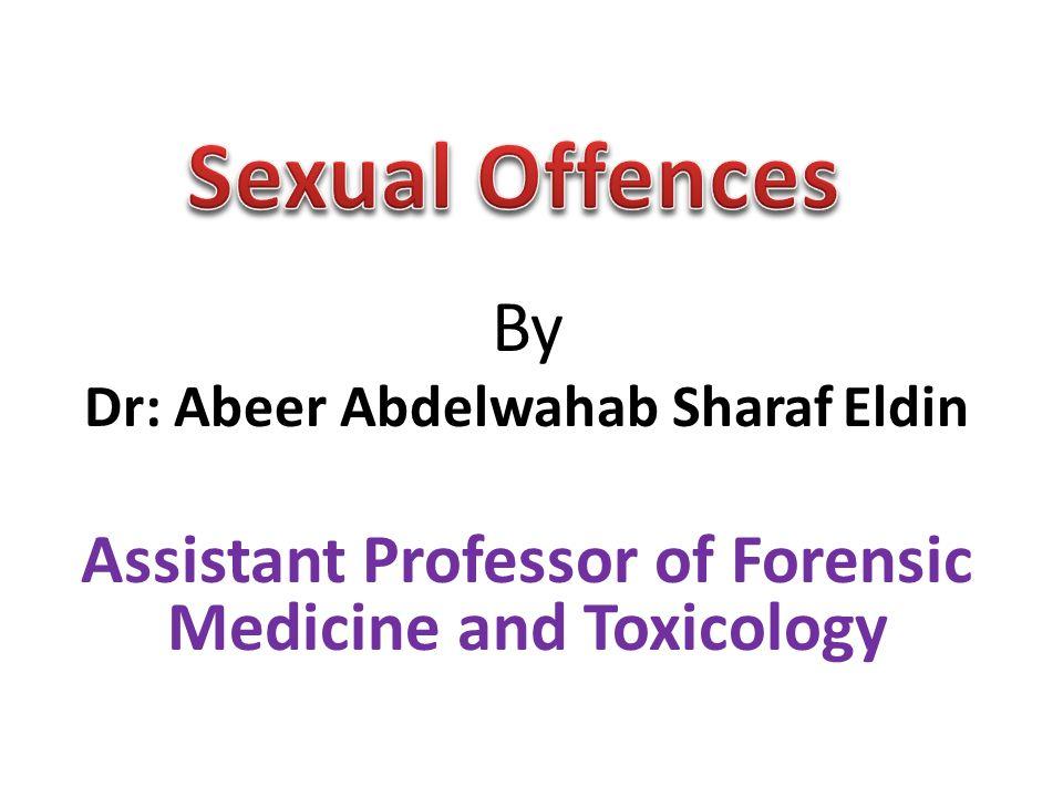 Dr: Abeer Abdelwahab Sharaf Eldin