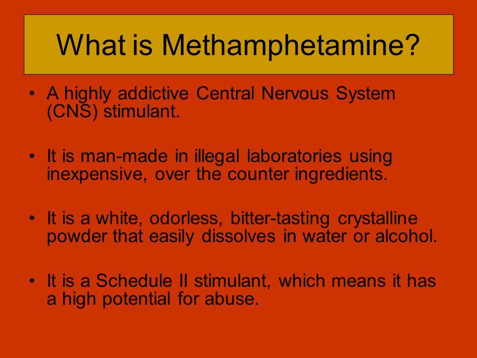 What is Methamphetamine