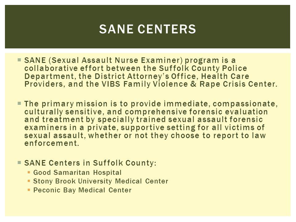 Sane centers