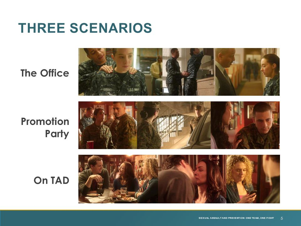 Three Scenarios The Office Promotion Party On TAD