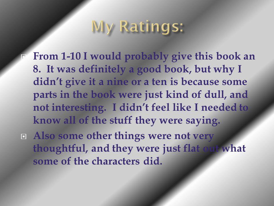 My Ratings: