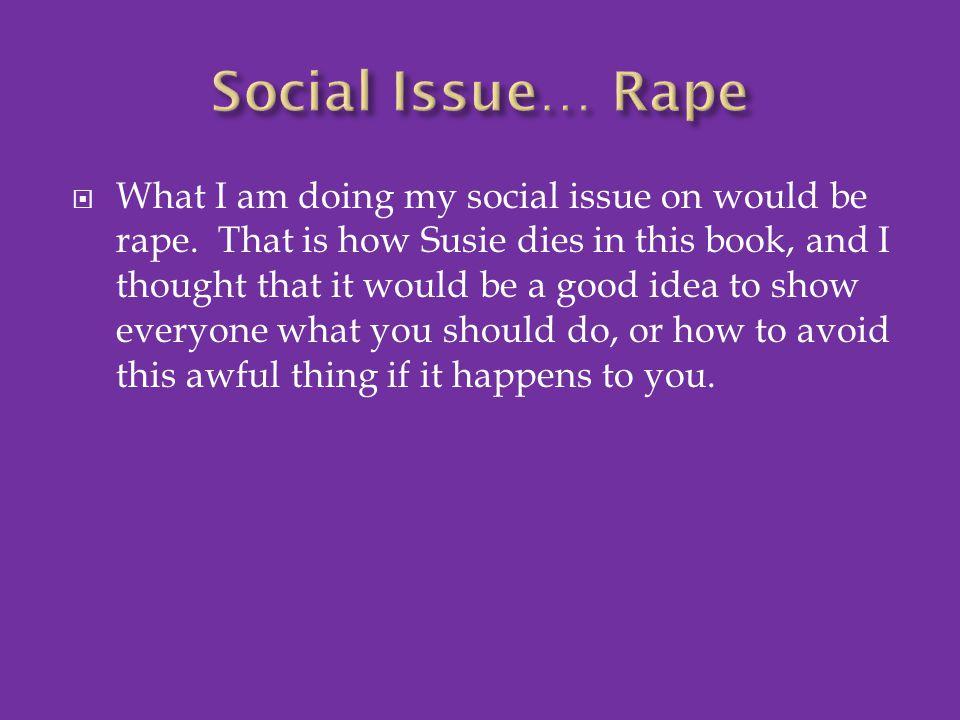 Social Issue… Rape