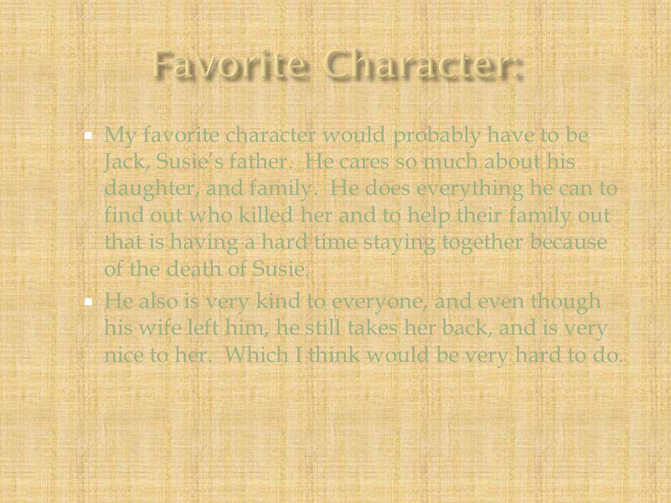 Favorite Character: